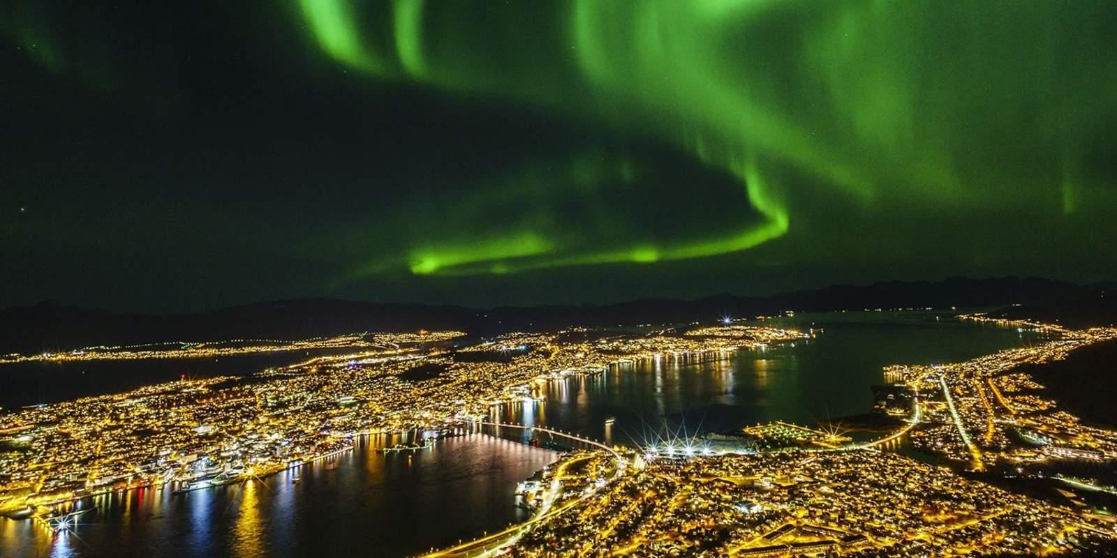 >Arrival in Tromsø